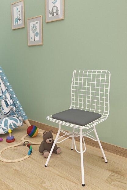 Evdemo Çocuk Sandalyesi Tel Gri
