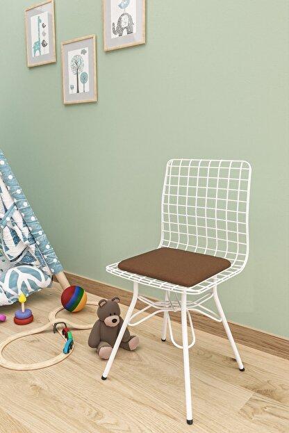 Evdemo Çocuk Sandalyesi Tel Kahve