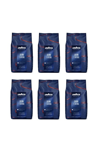 LavAzza Espresso Crema E Aroma Çekirdek Kahve 6 Adet (6kg)