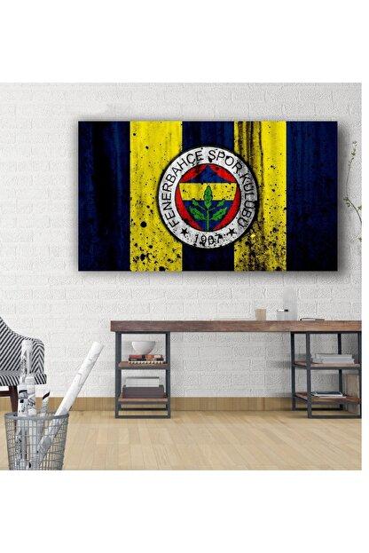 kanvasnes Fenerbahçe Temalı - Her Mekana Uygun Dekoratif Kanvas Tablo 30x60 Cm