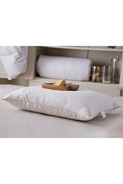 English Home Comfy Pamuk Yastık 50x70 cm. Beyaz