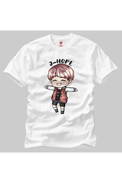 Crazy Bts Cartoon J-hope Chibi Erkek Tişört