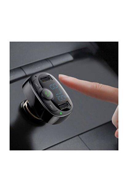 Baseus Orijinal Bluetooth Aktarım Mp3 Araç Kiti 2 Usb Çıkışlı Araç Şarjı, Araç Müzik Kiti Ve Şarjı