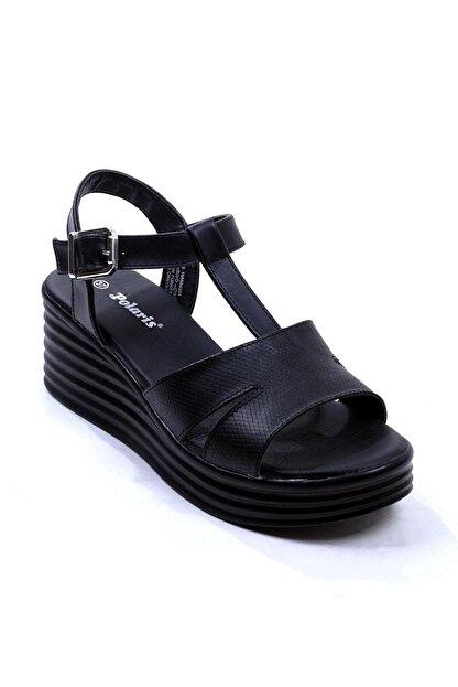 Polaris 315698.Z Siyah Kadın Sandalet 100508351
