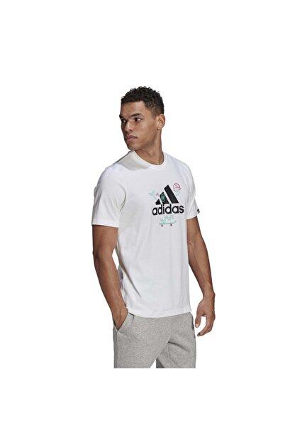 adidas Erkek M Crtn Logo T  T-Shirt