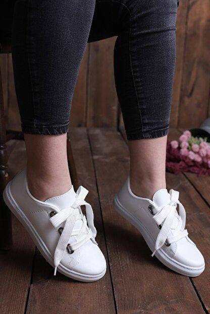 pasyone Kadın  Beyaz  Casual Ayakkabı