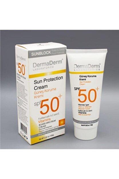 DermaDerm Spf 50+ Güneş Koruma Kremi 100 gr