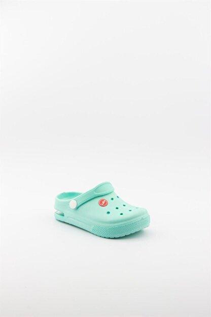 Akınalbella Çocuk Mavi Air Taban Işıklı Sandalet Terlik