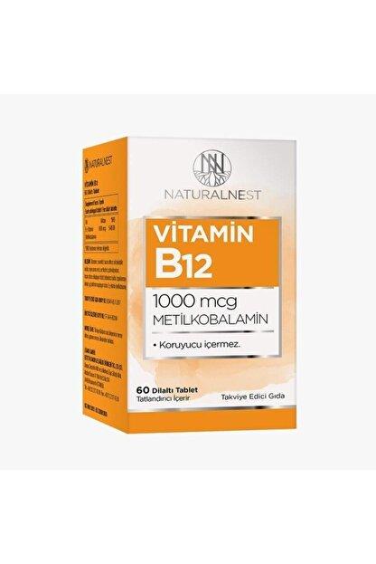 Natural Nest Naturalnest Vitamin B12 1000 Mcg 60 Dilaltı Tablet