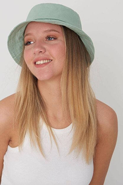 Addax Kadın Mint Şapka Şpk507 - H13 Adx-0000021483