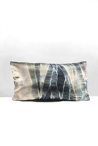 BENLİSSO Home Collection & Textile Dikdörtgen Kırlent Kılıfı Su Yeşili 35x55(SÜET KUMAŞ)