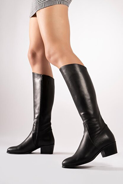 CZ London Hakiki Deri Kadın Çizme Uzun Kışlık Kadın Ayakkabı