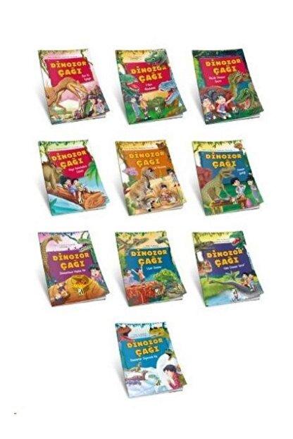 Damla Yayınevi - Özel Ürün Dinozor Çağı Seti 10 Kitap Takım Kolektif