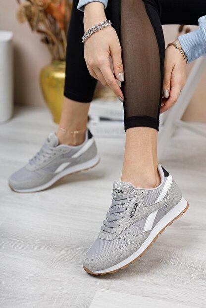 Riccon Gri Beyaz Unisex Sneaker 0012853