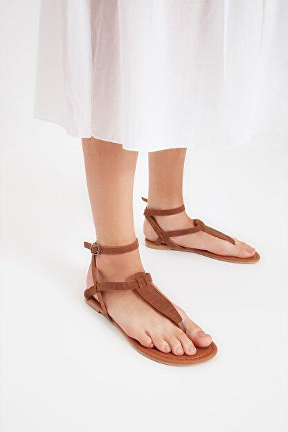 Trendyol Shoes Taba Kadın Sandalet TAKSS21SD0045