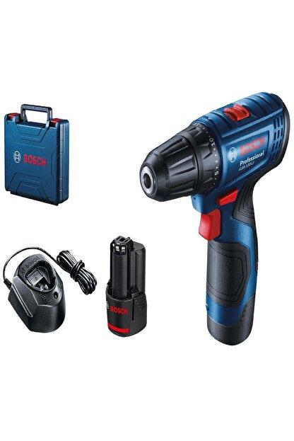 Bosch Professional GSR 120-LI Akülü Delme/Vidalama 12 Volt Li-ion 2 adet 2.0 Ah Akü Plastik Çanta