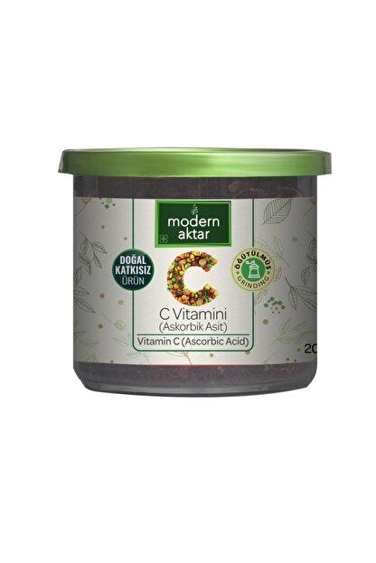 modern aktar C Vitamini (askorbik Asit) 200 Gr