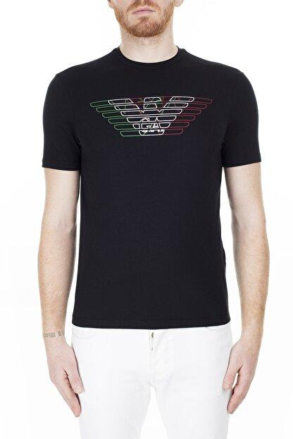 Emporio Armani Regular Fit T Shirt Erkek T Shirt 3H1T71 1J11Z 0999