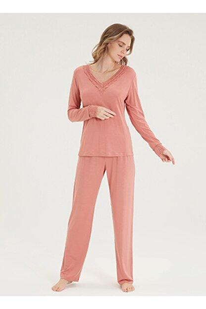 Blackspade Kadın Pijama Takımı 50353 - Sarı