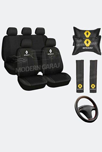 Modern Garaj Renault Koltuk Kılıfı