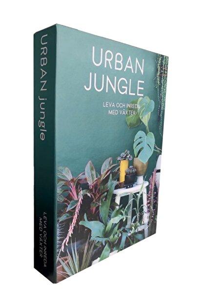 LYN HOME & DECOR Urban Jungle Dekoratif Kutu 27x19x4