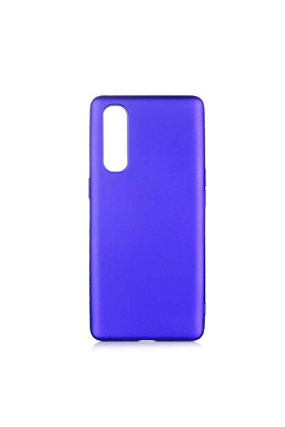 Zore Oppo Reno 3 Pro 5g Kılıf Zore Premier Silikon Lacivert