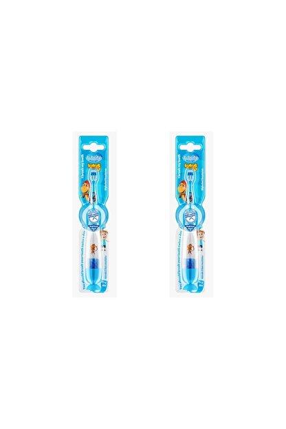 Kukuli Bbrıte 2'li Işıklı Diş Fırçası Mavi