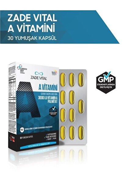 Zade Vital A Vitamini 30 Yumuşak Kapsül - Blister