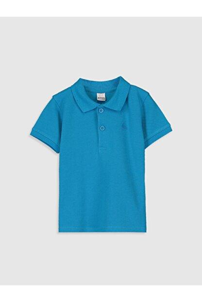 LC Waikiki Erkek Bebek Turkuaz T-Shirt