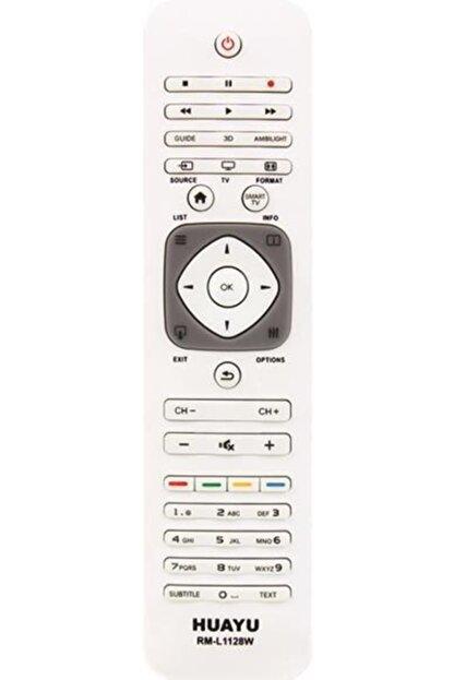 Philips Rm-l1128w Beyaz 3d Lcd Plazma Led Tv Kumandası