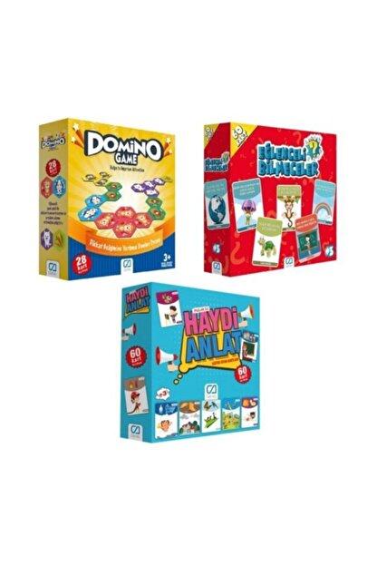 CA Games 3'lü Eğitici Aile Oyunu Seti (5080-10015-5103) Ca.5080-10015-5103