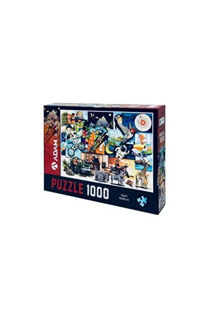 Adam Games 1000 Parça Puzzle - Yaşam