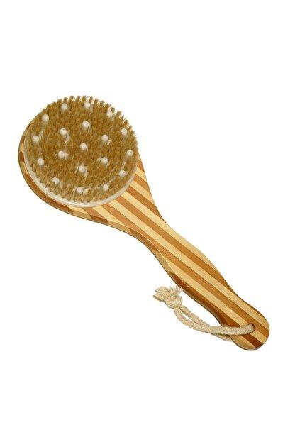Cosmica Bambu Saplı Masajlı Selülit & Banyo Sırt Fırçası 8692576001325