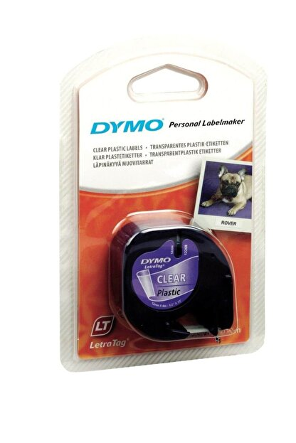 Dymo Letratag Metalik Şerit 12mmx4mt Gri 59429 /