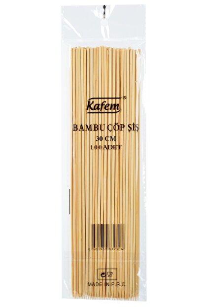 KAFEM Bambu Çöp Şiş 30 Cm 50 Pk X 100 Adet -
