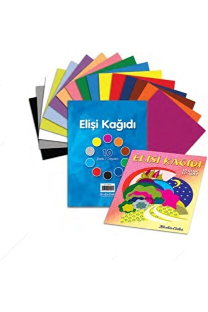 Keskin Color K.color 10lu Dosyalı Elişi Kağıdı