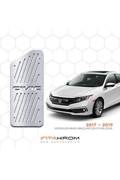 İntachrom Honda Civic Krom Ayak Dinlendirme Pedalı - 2017 - 2020