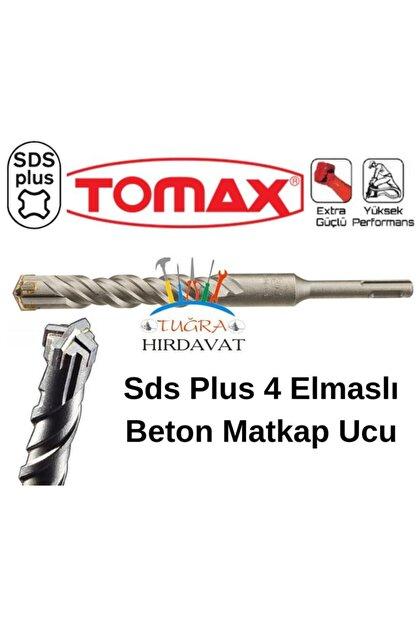 Tomax Sds Plus 4 Elmas Beton Duvar Delme Matkap Ucu 10x210