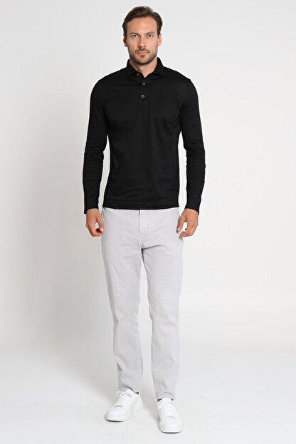 Lufian Olaw Spor Chino Pantolon Slim Fit Gri