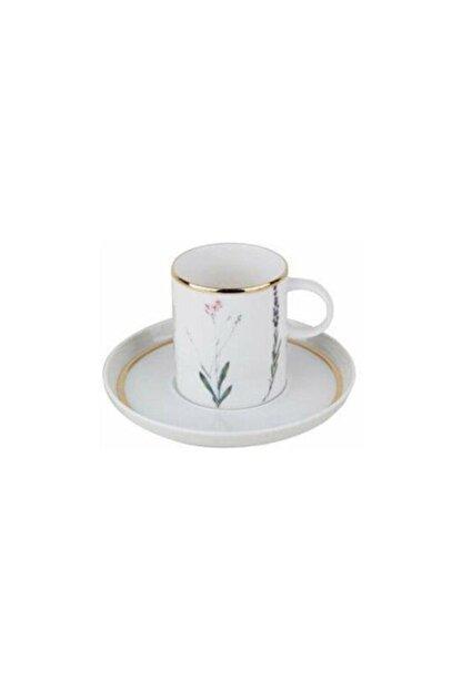Porland Botanical Tabaklı Kahve Fincanı 80 cc
