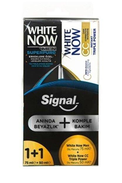 Signal White Now Men Superpure  75 Ml + Cc Triple Power 50 Ml