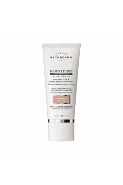 INSTITUT ESTHEDERM Photo Reverse Tinted Light Beige 50ml