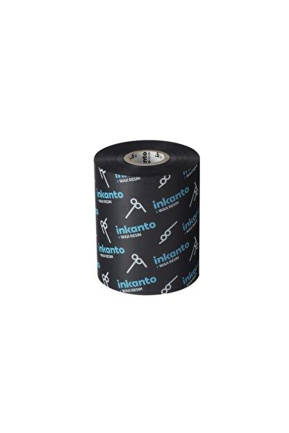 Inkanto Wax-resin Ribon Siyah 90mm X 300mt (out)