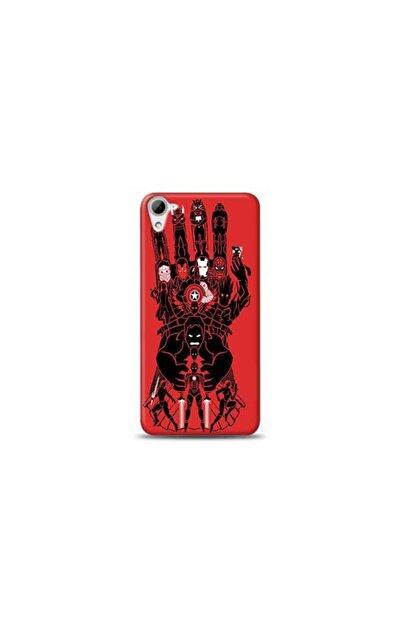 Kılıf Madeni Htc Desire 826 Marvel Tasarımlı Telefon Kılıf Y-mavengerskf0021