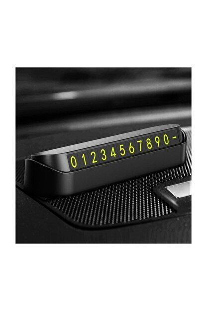 Platoon Araç Içi Park Telefon Numarası Fosforlu Numaratör Araç Cam Kartı