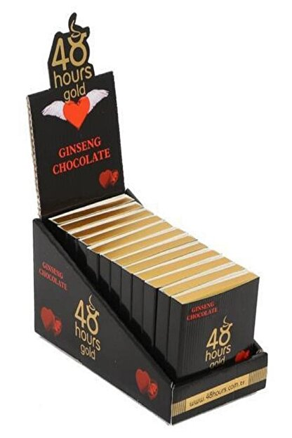 48 hours gold 48 Hours Energy Chocolate 12 Adet