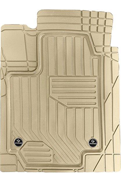 Sevenyol Mercedes Clk 02-09 C209 4d Premium Bej Havuzlu Paspas 5 Parça (klipsli)
