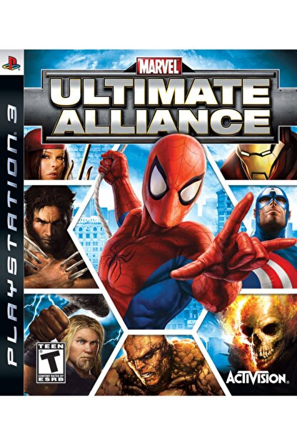 Activision Ps3 Marvel Ultimate Alliance