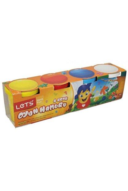 Beyaz Toys 4 Renk Eğlenceli Oyun Hamuru Oyuncak