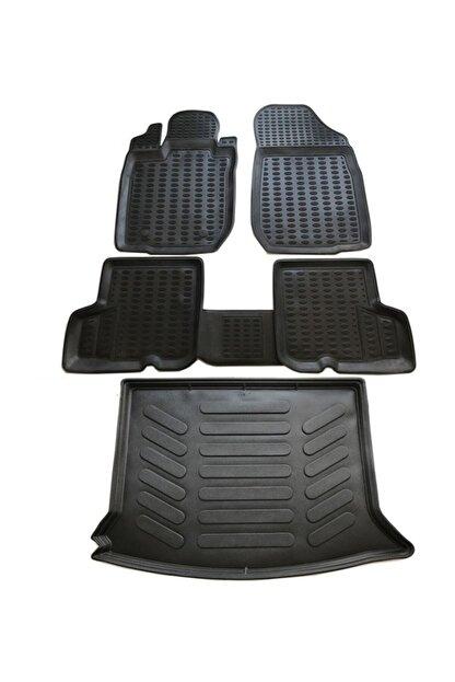 Leader Dacia Sandero Stepway 3d Paspas 2008-2018 Arası+bagaj Havuzu Ikili Set